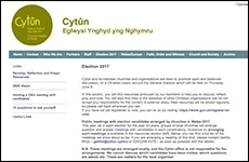 Cytûn election pages